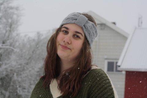 ENGASJERT: Julie Amanda Messell har engasjert seg i omorganiseringa av Sykehuset Innlandet. Hun kjemper for å bevare Kringsjåtunet på Lillehammer, som er et døgntilbud for unge mennesker som sliter psykisk.
