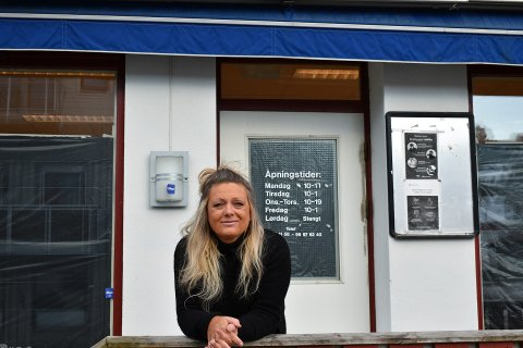 SATSER: Kristin Sørlie (48) satser og starter opp frisørsalong i Lunner sentrum.