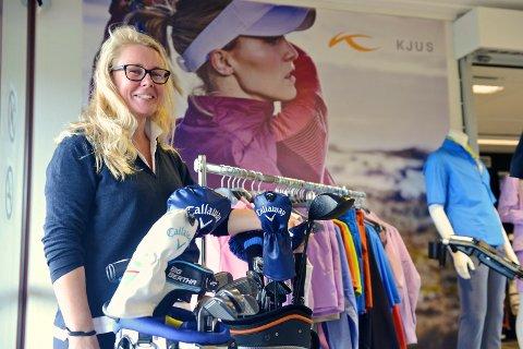 NY SJEF: Anna Crawford har fått jobben som daglig leder hos Tyrifjord golfklubb.