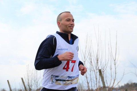 LØPER: Nicolaj er siste tilskudd i Oppdalskarusellen i løperfamilien Hval-Thomsen på Harestua.