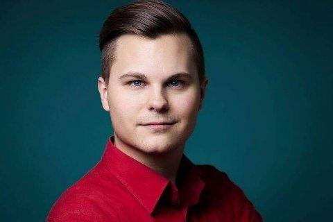 GLEDER SEG: Kristoffer Grua gleder seg til å spille for et publikum igjen.