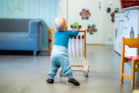 BARNEHAGE: Fersk statistikk viser at det er store forskjeller på barnehagebetaling i Vestoppland. (illustrasjonsfoto)
