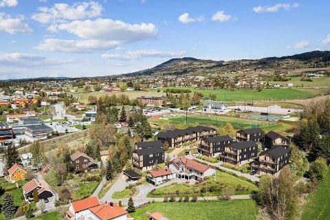 PÅ TIDLIG STADIUM: Bildet er et utkast i forhold til planene om nye leiligheter i prosjektet Morstadlia.