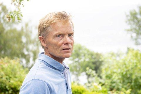 Nils Bull kjemper en sak for privatlivets fred: Han ønsker fred og ro i egen hage.