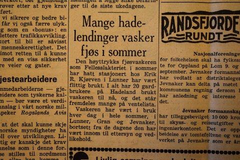 Hadeland 31. juli 1971.