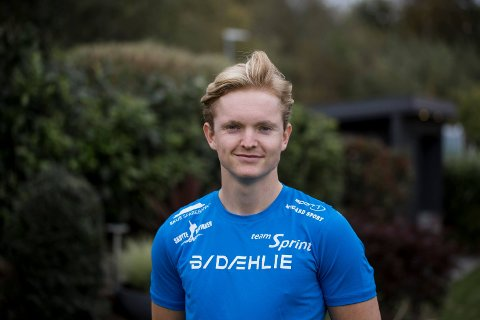 LAGT OPP: Sander Mikkelsen fra Jevnaker er glad for valget han tok i fjor vinter.