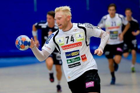 Victor Skillhammar var banens gigant da HTH gikk til semifinale.