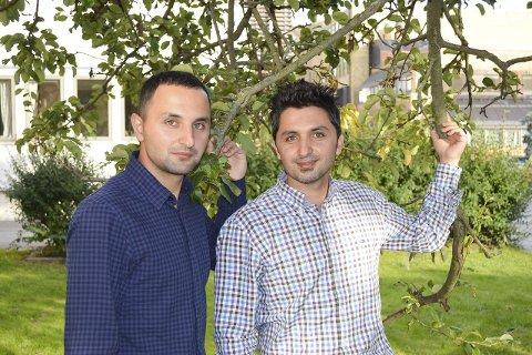 IKKE FANATIKERE: – Syrere er ikke noe fanatisk religiøst folkeslag, så folk trenger ikke være redd for ekstremister blant syrerne, sier brødrene Farhad og Marwan Hasan
