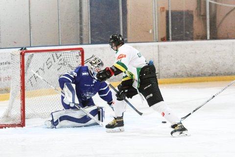 Paulius Gintautas spilte en god kamp for Comet, og ble også matchvinner i Furuset Forum.  Foto: Sofie Kitterød