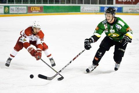 Einar Egeland var Comets beste i begge kampene mot Bergen.