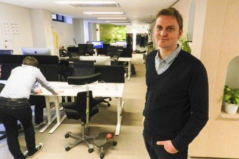 FORNØYD: Haldenser Martin Vikesland gleder seg til en fin sommer etter å ha solgt selskapet Netlife Research til Posten.