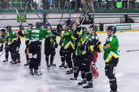 Comet-spillerne kunne juble etter seier 5-4 over Narvik.