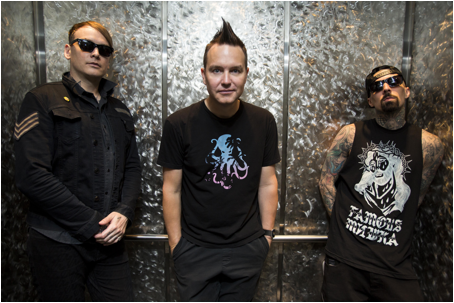 KLARE FOR TONS OF ROCK: Blink 182.