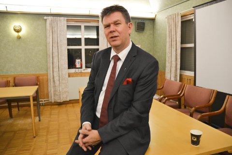 Se til Aremark: Ordfører Geir Aarbu mener politikerne i Halden har noe å lære av de folkevalgte i Aremark kommune når det kommer til samarbeid. foto: trine bakke Eidissen