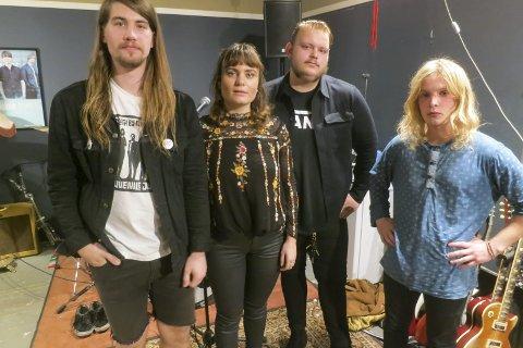 DE MARVELLS: Klare med debutsingel. Bandets første store haldenkonsert finner sted på Bryggerhuset fredag 24. februar. Foto: Tom Skjeklesæther