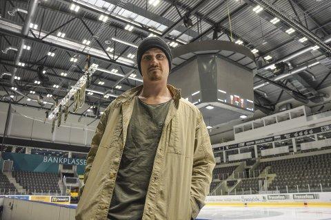 HEGEMONI: Peter Lorentzen i DNB Arena, selve symbolet på Stavanger Oilers' hegemoni i norsk ishockey. Klubben omsetter for rundt 100 millioner kroner, og har utvilsomt blitt den dominerende klubben i landet.