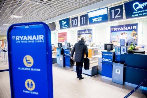 Det var i debatten om framtida til Moss lufthavn Rygge det tok av på Johansens hjemmeside.