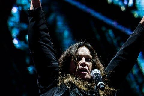 I 2016: Ozzy var i slaget på Fredriksten festning under Black Sabbaths siste konsert på 2016-turneen. Nå legger bandet ut på en avskjedsturné, og da står Halden og Tons of Rock atter en gang på turnélista.