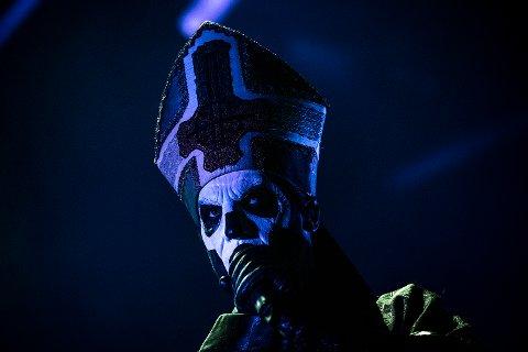 GHOST: I fjor inntok det svenske heavy metal-bandet Ghost festningen.