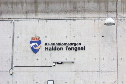 BYGGES UT: Halden fengsel vil etter all sannsynlighet bygges ut med 96 plasser.