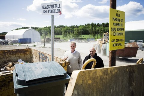 GOD INNTEKT: Halden kommune tjener gode penger på søppel i dag.Arkivfoto