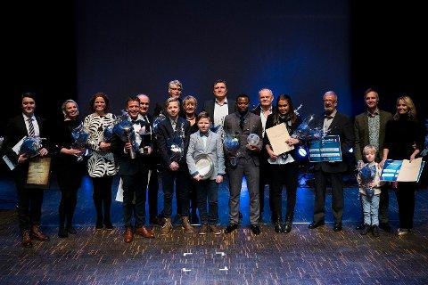 Her er årets Haldengalla-prisvinnere.