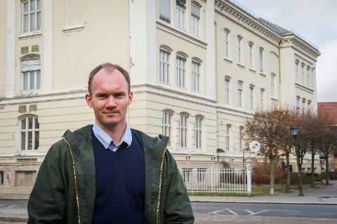 Direktør fortekniski Halden kommune, Ulf Ellingsen, forklarer hvorfor det ikke er noen selvfølge at Halden Plastgjenvinning AS får tilgang på arealer på Rokke. Arkivfoto