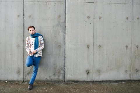 FORFATTER: Demian Vitanza fra Halden gjør det bra i utlandet og er nominert til Ungdommens kritikerpris.