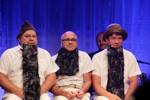 SUKSESSGUTTANE: Fra venstre ser vi Pål Nielsen, Atle Jensen og Bjørnar Spydevold. De venter på dobbeltsporet, som aldri kommer. VM i venting. Arkiv.