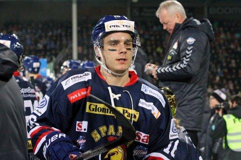 SPARTA: Herman Benjo Kopperud spiller for tiden for Sparta i Get-ligaen.