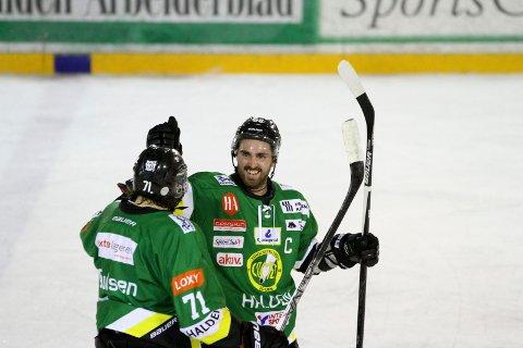 Fredrik Olsson er kaptein på Comets A-lag.