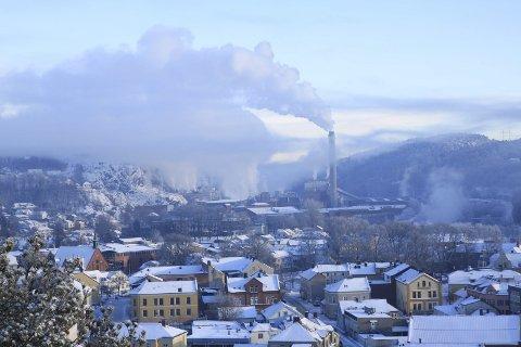 Lang vinter: Vinteren kan bli lang på «Kaken». Arkivfoto: HA