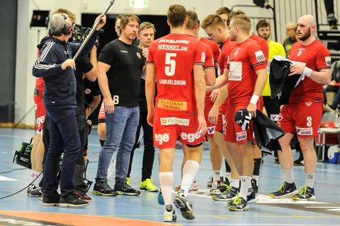 TRENER: Jonas Wille og HC Midtjylland ligger på 9. plass i den danske eliteserien.