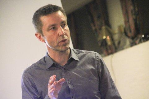 Store: Terje Wahlstrøm tror turnforeningen bare vil vokse seg større og større med ny hall.