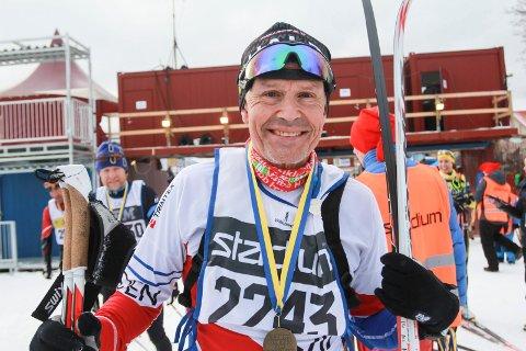 Arnt Edvin Andersen imponerte igjen, to uker etter Vasaloppet. Denne gang ble det tredjeplass i klassen.