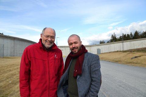 Svein Roald Hansen og Arve Simundstad - Østfold Arbeiderparti