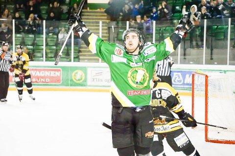 Fredrik Olsson har spilt sin siste hockeykamp. Nå må han legge opp etter hodeskaden han pådro seg i mars.