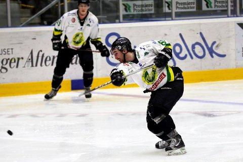 Comets supportere kan likevel se fram til nye slagskuddkanoner fra Fredrik Olsson.