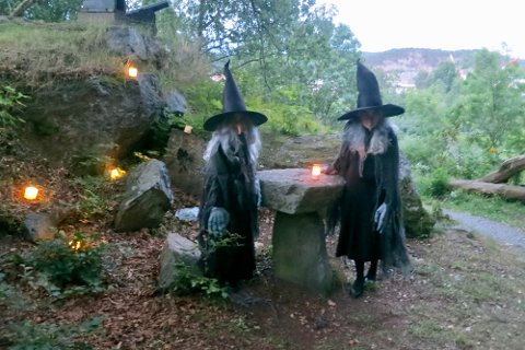 SKUMMELT: Hekser uten sopelim.