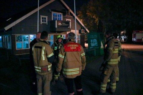 Brannvesenet var kjapt på plass på Strupe.