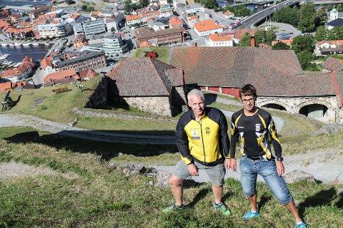 Gjermund Tønnesen og Gaele de Vries er klare for årets kanonløp.