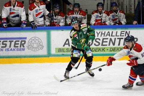 Jaunius Jasinevicius har vært en av Comets beste spillere siden han kom til Halden foran fjorårets sesong.