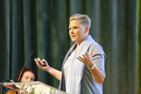 PÅ TOPP: Anne Beathe Kristiansen Tvinnereim er foreslått som førstekandidat på Senterpartiets liste til Viken.