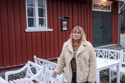 JULESTED: Fem år på rad ledet Eva Denis «Jul på Rød» i Herregårdskafeen.