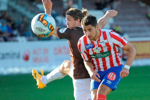 TIL FREDRIKSHALD: Arber Shkodrani forlater Kvik, og skal i år spille for Fredrikshald Prishtina i 6. divisjon.