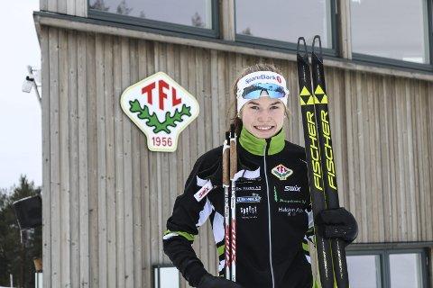 MOT TOPPEN: 16 år gamle Martine Svendsby er bedre enn noen gang, og har nærmet seg de aller beste jentene i sin årsklasse på rekordfart denne sesongen.foto: Sebastian Backe Eriksen