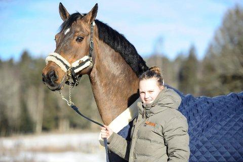 OVERLEGEN: Helena Liholt Gulli og Tobajo Picez vant sin klasse under gigantstevnet AEG i Vestfold.