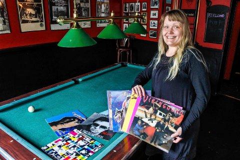 PLATEMESSE: Pernille Zorg hos Feelgood forteller det blir platemesse hos dem førstkommende lørdag.