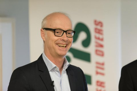 STARTER NETTHANDEL: Europris-sjef Pål Wibe. (Foto: Paul Weaver)