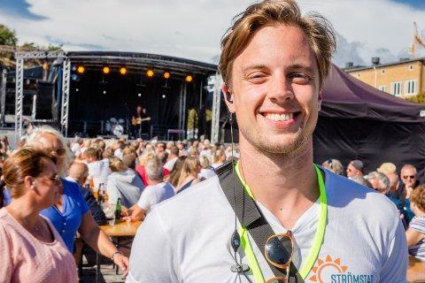 Festivalsjef Lars Joachim K. Hagen håper på sommerstemning og skikkelig fest under Strömstadfestivalen 2018.